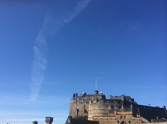Stirling Castle in Stirling of Scotland