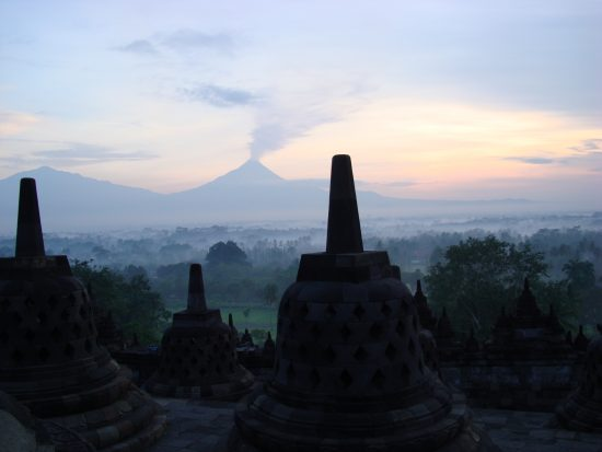 Borobudur Temple Compounds in Indonesia